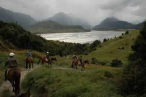 Horse riding in Glenorchy