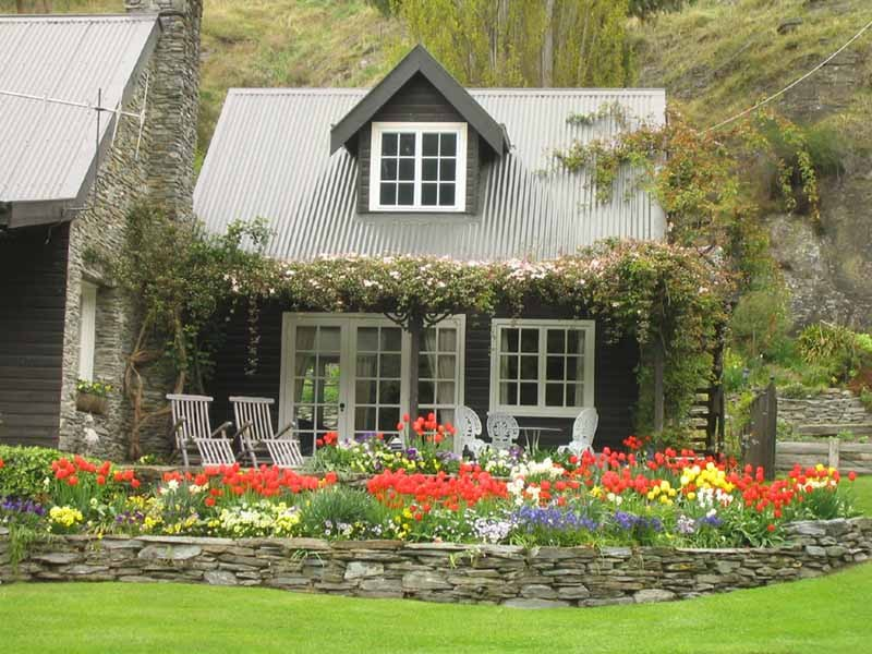 Garden apartment near Queenstown