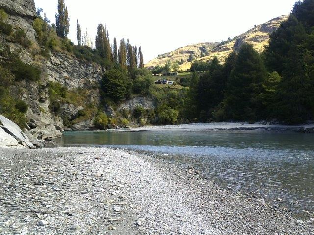 Shotover River below Trelawn Place Queenstown
